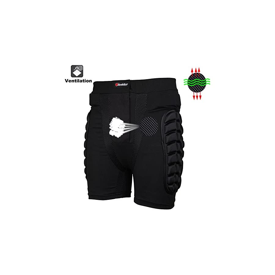 Adult 3D Hip EVA Padded Short Protective Gear for Skiing Skating Snowboard Impact Protection