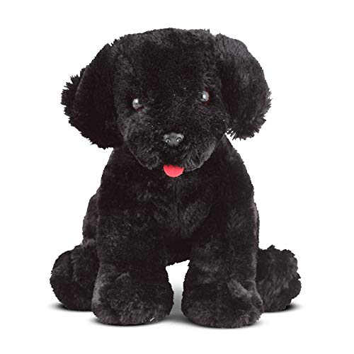 Melissa & Doug Benson Black Lab - Stuffed Animal Puppy Dog ()