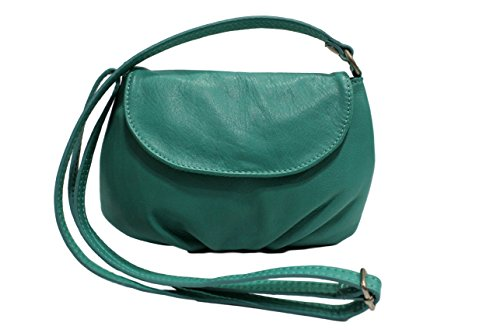 sac Petit Adriana Clair Turquoise cuir femme CHLOLY pfqHxOBwH