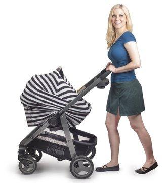 La mejor Enfermería Lactancia Materna Cover-Bufanda bebé silla de coche Canopy, carrito de la compra, carriola, carseat...