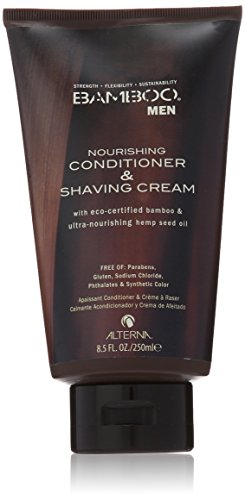 Alterna Bamboo Men Nourishing Conditioner and Shaving Cream by Alterna for Men, 8.5 Ounce