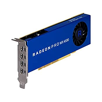 Image of AMD Radeon Pro WX 4100 Graphics Card Low Profile 4 GB GDDR5 (Z0B15AT) Graphics Cards