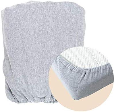 S/ábana bajera ajustable para cuna color gris 120 cm de largo x 60 cm de ancho MoKee