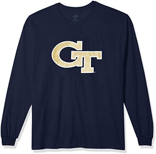Elite Fan Shop Fan Favorite Team Color Long Sleeve Icon Tee Shirt
