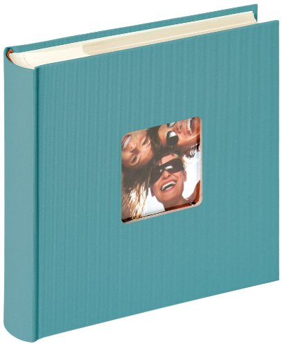 Walther Design, Álbum foto, color verde (petrolgrün), 200 fotos, 10 x 15 cm