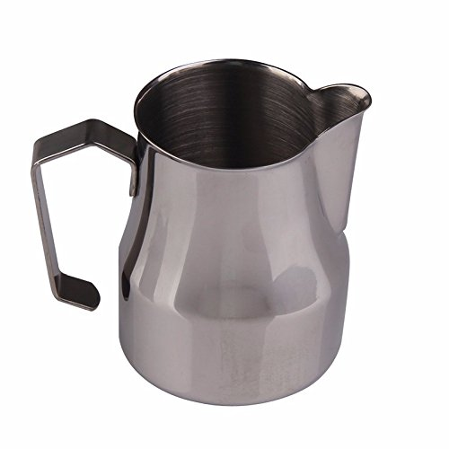 (YingYing Home Stainless Steel Coffee Shop Espresso Milk Latte Art Frothing Jug Tamper Coffee)