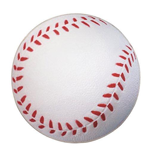 (CAMAL Rug Pads, Baseball Model Carpet Pad for Yoga Children Play and Decorative Sports Theme Room (Baseball))