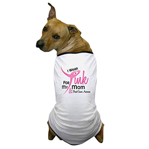 Cheap CafePress – I Wear Pink For My Mom 41 Dog T-Shirt – Dog T-Shirt, Pet Clothing, Funny Dog Costume