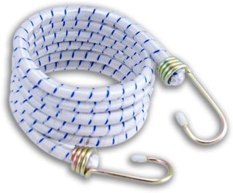 Generic Yanhong-us3–151014–1228yh2042yh 1/5,1cm de diamètre Sangle galvanisé S 12mm/1/5,1cm Heavy Duty 121,9cm Heavy DUT Crochets 12mm/1/5,1cm Sangle GA Tendeur élastique 20,3cm Diamètre
