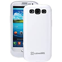 Samsung Galaxy S3 2000 mAh Extended Battery Case, White By Lenmar