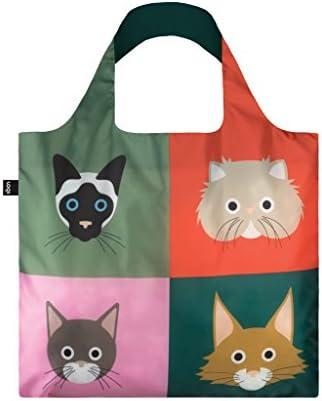 STEPHEN CHEETHAM Cats Bag 50x42 cm