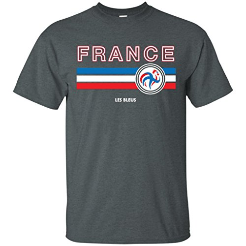Tusnest France Soccer Jersey Allez Les Bleus ()