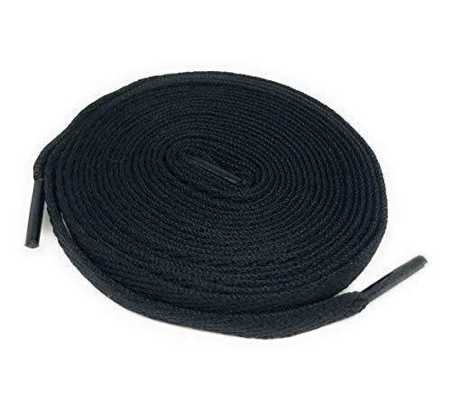 Air Jordan Replacement Shoelaces (Black) (Jordan Retro 12 Shoe Laces)