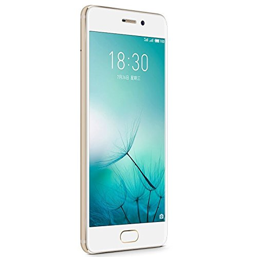 Meizu Pro 7 Unlocked 4G LTE Smartphone Deca Core 4GB RAM 128GB ROM 5.2'' 1080P Super AMOLED Two-sided Screen Dual Rear 12.0MP Camera Fast Charge Cell Phone (Gold)