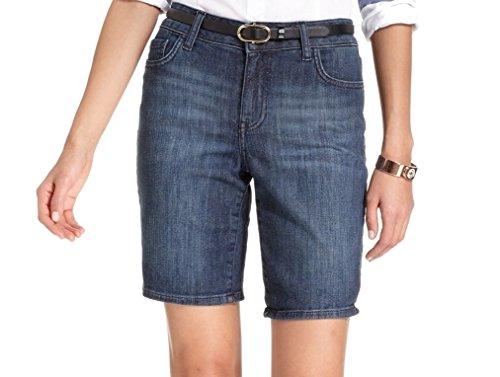 Tommy Hilfiger Wash Women's Bermuda Denim Shorts Blue