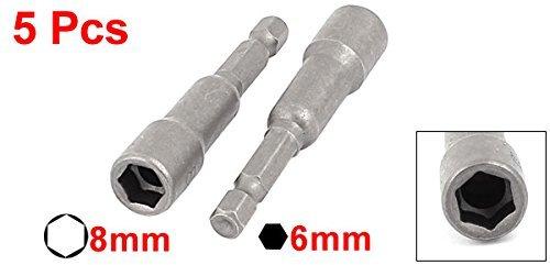 eDealMax 8mm Socket adaptador magnético destornillador ...