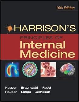 harrisons principles of internal medicine 20th edition