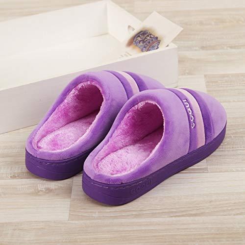 A Classic Per Warm Righe Di Adatto Comfort Adatta In Borsa Pantofole Con Lianaio Cotone 36 37 7YwqTx8