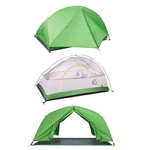 Amazon.com  Terra Hiker 2 Person Tent Ultralight C&ing Tent 4 Seasons Tent with Tent Fly Tarp for Outdoor Activities  Sports u0026 Outdoors  sc 1 st  Amazon.com & Amazon.com : Terra Hiker 2 Person Tent Ultralight Camping Tent 4 ...