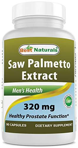Best Naturals Saw Palmetto Extract Prostate Supplement 320 mg 90 Capsules