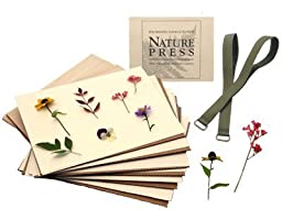 Natures Pressed Flower & Leaf Press 7 X 9 Nature Press (For Pressing Leaves & Flowers)