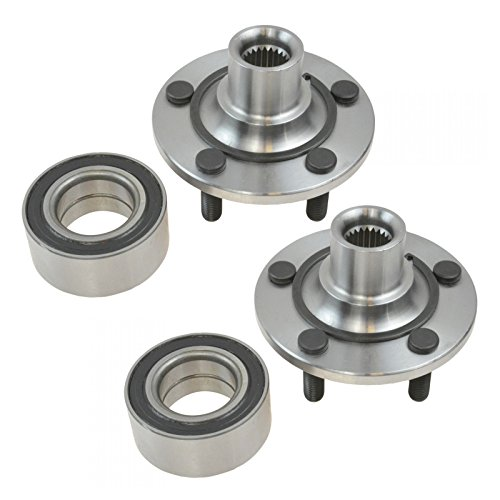 Dodge Neon Front Wheel - Front Wheel Hub & Bearing 5 Lug Left & Right Pair Set for Dodge Neon
