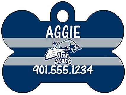 Amazon com : Utah State Aggies Dog Tag Pet Id Tag