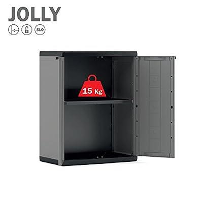 KIS Jolly DG Armoire étagère de jardin en plastique ...