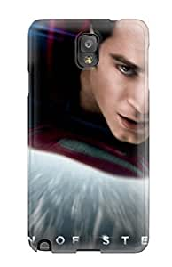CaseyKBrown Design High Quality Man Of Steel Dc Comics Superhero Cover Case With Excellent Style For Galaxy Note 3