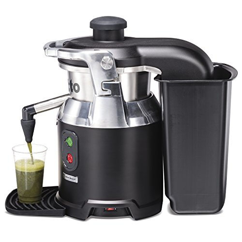 Amazon.com: Hamilton Beach Commercial HJE960 Otto The Centrifugal Juice Extractor, Stainless Steel, Black: Industrial & Scientific