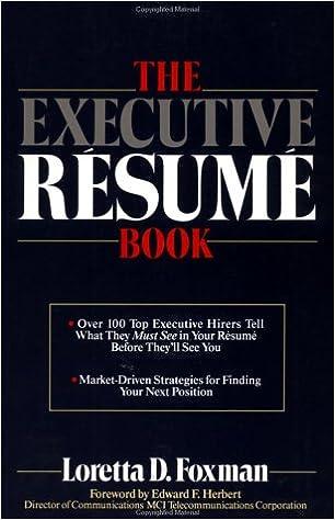 Bedste lydbog downloader gratis The Executive Résumé Book in Danish FB2