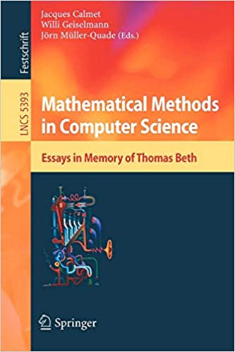 mathematical methods in computer science essays in memory