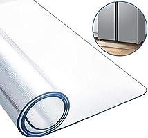 冷蔵庫 マット Vsadey キズ防止 凹み防止床保護シート 厚さ3mm 無色 透明 冷蔵庫キズ防止マット