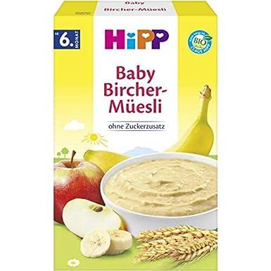 Hipp Orgánico y cereales buena papilla por la mañana Bircher Muesli 250g: Amazon.es: Alimentación y bebidas