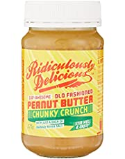 Ridiculously Delicious Chunky Crunch Peanut Butter, 375 g