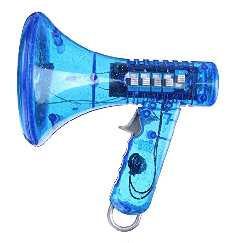 Kicko Kids Multi Voice Changer - Blue Color - Change Your Voice, Modifier - for Boys, and Girls of All Ages, Parties, Cinco de Mayo, Christmas, Events (Best Girl Voice Changer)