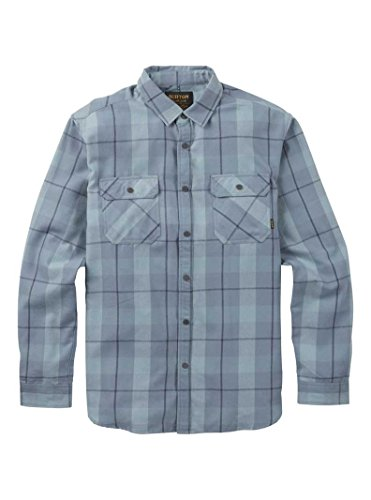 - Burton Men's Brighton Tech Flannel Whale Boxelder Size Small
