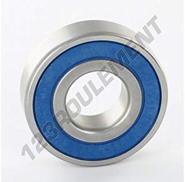 Roulement a billes S6204-2RS 20x47x14 mm