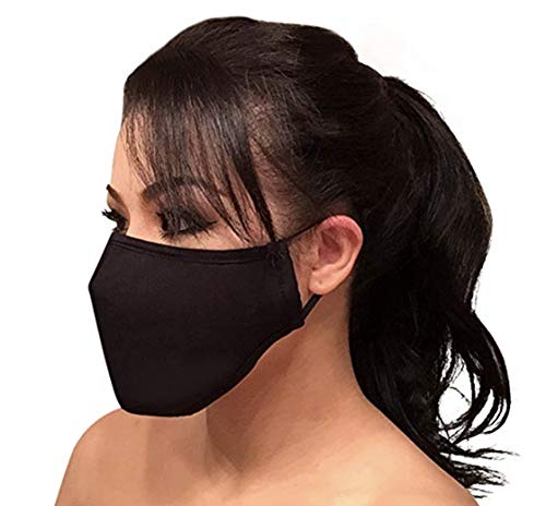 N95 Pollution Respirator Dust Mask - w/Activated Carbon Filtration Multi-Layer Protection from Exhaust Gas Anti Pollen Allergy Washable Environmentally Friendly PM2.5 Half Face Mask Men Women Kids