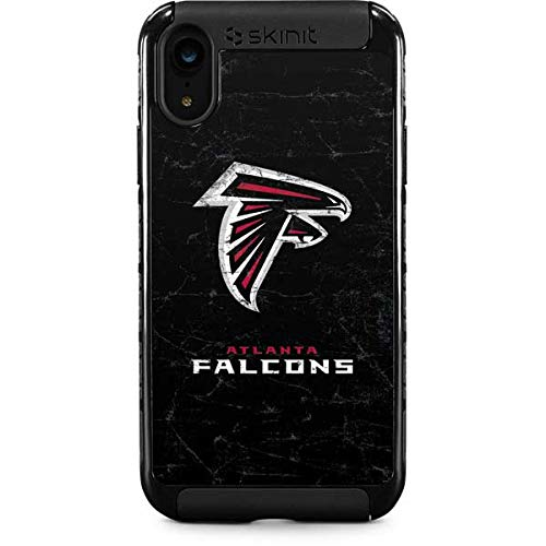- Skinit Atlanta Falcons Distressed iPhone XR Cargo Case - Officially Licensed NFL Phone Case - Durable Double Layer iPhone XR Cover with Enhanced Grip