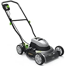 Earthwise 50218 18-Inch 12-Amp Side Discharge/Mulching Electric Lawn Mower