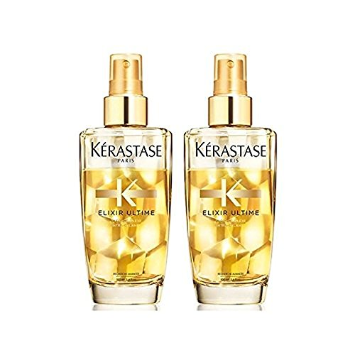 Kérastase Elixir Ultime Fine Hair Oil Duo 100ml (Pack, used for sale  Delivered anywhere in USA