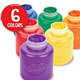 Crayola Washable Kids Paint, 6 Count, Kids At