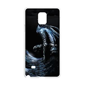 Samsung Galaxy Note 4 Cell Phone Case White Dark Souls yewd