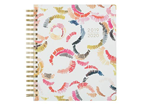 Kelly Ventura for Blue Sky 2019-2020 Academic Year Daily & Monthly Planner, Hardcover, Gold-Tone Twin-Wire Binding, 8