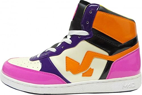 Mad Skateboard Schuhe Pink/Yellow/black/Purple/White