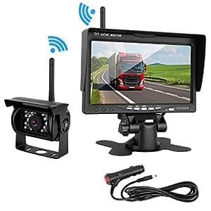 Amazon Com Zsmj Wireless Backup Camera Rear View Camera