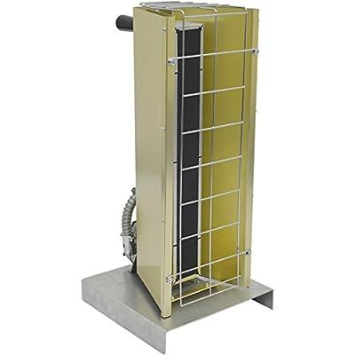 TPI Fostoria Infrared Heater W/Cord & Plug Portable Electric 1.45 kW 120V