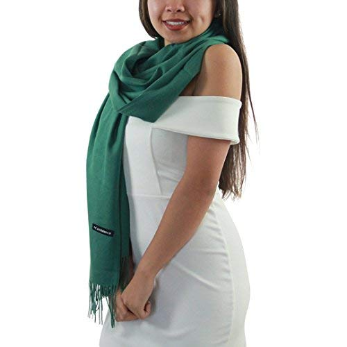 100% Cashmere Scarf - Multiple Colors, Gift Boxed, Premium Quality