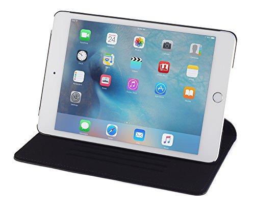Devicewear Ridge, Slim, Auto Sleep/Wake with Six Position Flip Stand for Apple iPad Mini 4(RDG-IPM4-BLK)